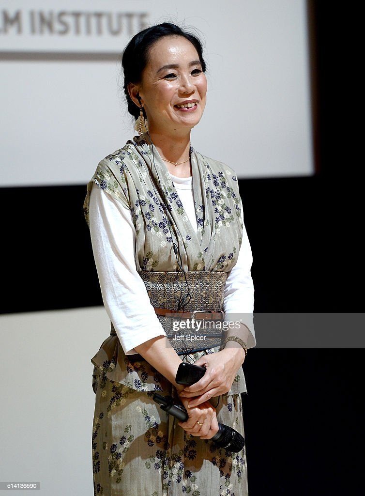 Japanese auteur <a gi-track='captionPersonalityLinkClicked' href=/galleries/search?phrase=Naomi+Kawase&family=editorial&specificpeople=3267953 ng-click='$event.stopPropagation()'>Naomi Kawase</a> participates in a question and answer session at a screening of 'The Mourning Forest' on day three of Qumra, an industry event by the Doha Film Institute dedicated to the development of emerging filmmakers on March 6, 2016 in Doha, Qatar.