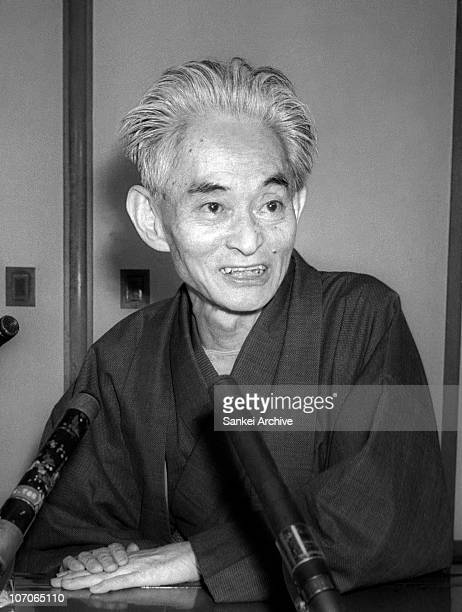 Japanese author Yasunari Kawabata is seen in 1968 in Japan Kawabata won the Nobel Prize in Literature in 1968