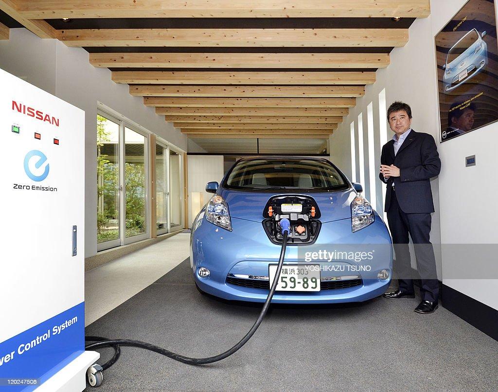 Japanese Auto Maker Nissan Motor Executive Hideaki