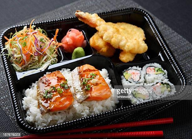 Japanese Bento - Salmon