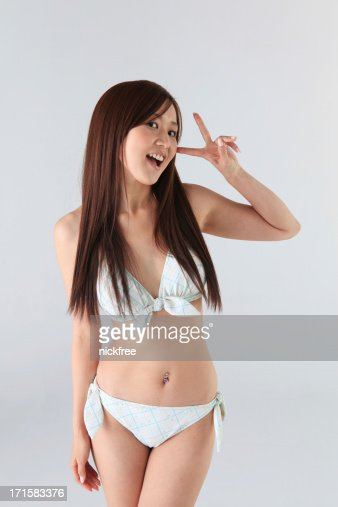 Japanese Bikini Girl Stock Photo Getty Images
