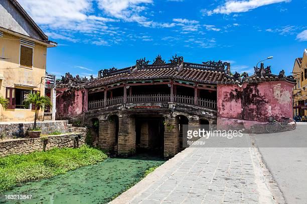 Pont japonais au Hoi An et du Vietnam