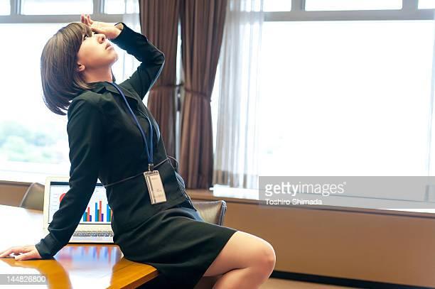 Japanese business woman
