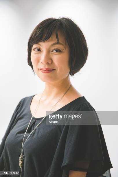 japanische Geschäftsfrau