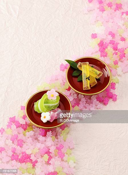 Japanese candies on Conpeito