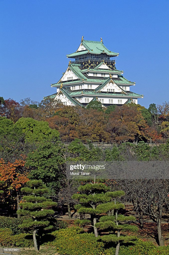 Japanese castle : Stock Photo