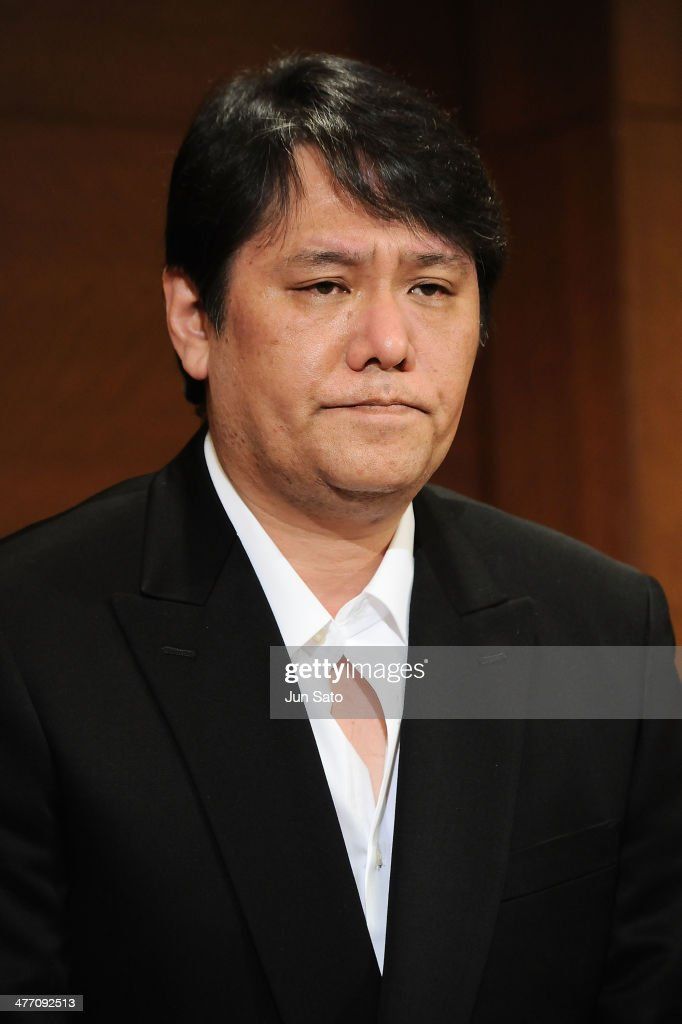 Japanese Composer <a gi-track='captionPersonalityLinkClicked' href=/galleries/search?phrase=Mamoru+Samuragochi&family=editorial&specificpeople=12456384 ng-click='$event.stopPropagation()'>Mamoru Samuragochi</a> speaks during the news conference at Tokyo Grand Hotel on March 7, 2014 in Tokyo, Japan. Samuragochi, formerly known as a deaf classical composer, has admitted that he was hiring another man to write his most popular works, and was not deaf.