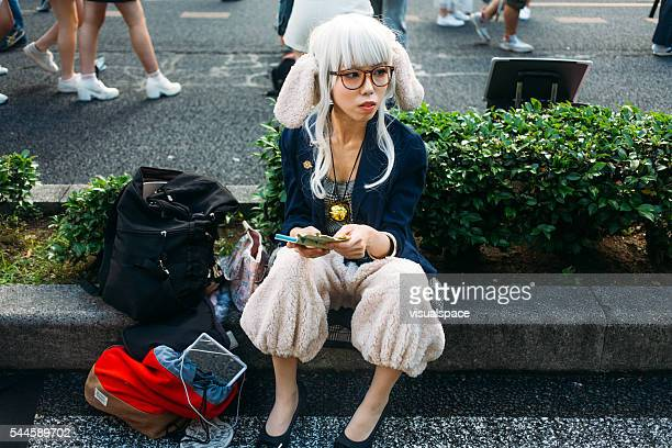 Japanese cosplayer in Nagoya