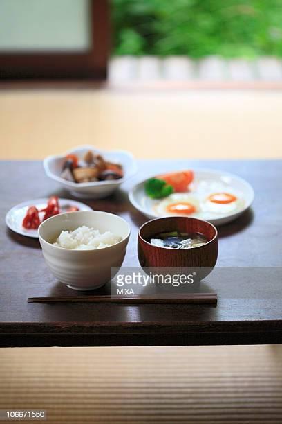 Japanese cuisine breakfast
