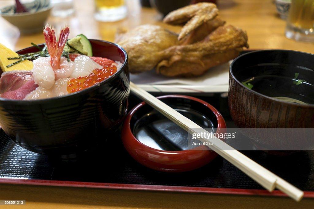 Japanese cuisine fried chicken : Stock Photo