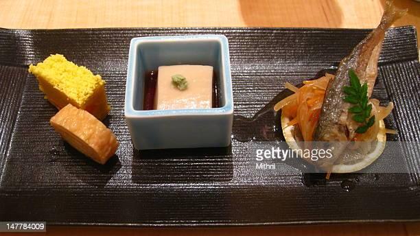 Japanese dinner Kaiseki