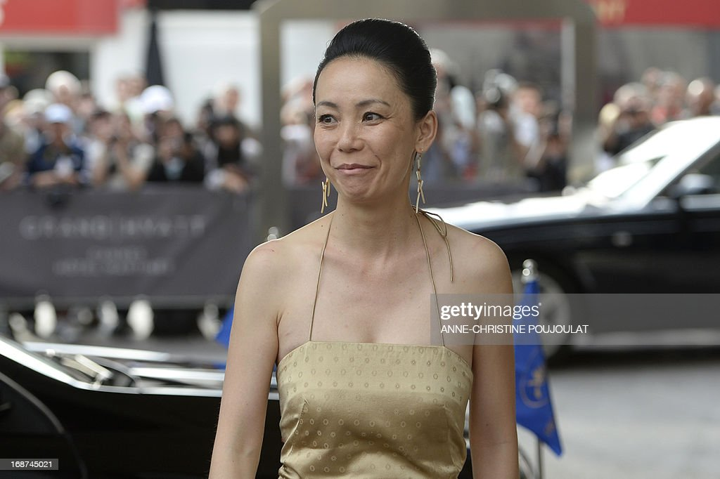 Japanese director and member of the Feature Film Jury, Naomi Kawase arrives on May 14, 2013 at the Grand-Hyatt Martinez Hotel in Cannes to attend a photocall of the Jury on the eve of the 66th edition of the Cannes Film Festival. Cannes, one of the world's top film festivals, opens on May 15 and will climax on May 26 with awards selected by a jury headed this year by Hollywood legend Steven Spielberg.