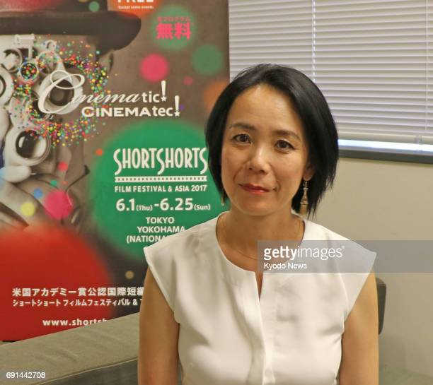 Japanese director Naomi Kawase speaks on June 1 2017 about how her experiences at the Cannes Film Festival have helped her grow Kawase made the...