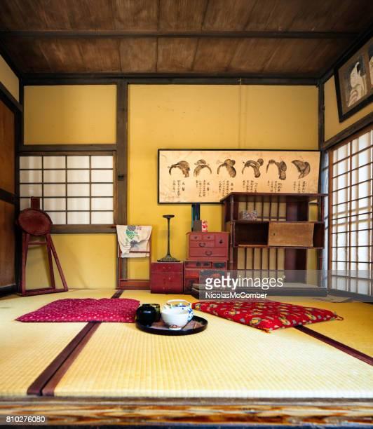 Japanese Edo village hairstylist room movie set at Toei Studios Kyoto
