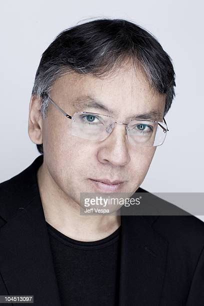 Japanese English novelist Kazuo Ishiguro poses at a portrait session at the 2010 Toronto International Film Festival in Toronto CAN on September 13...