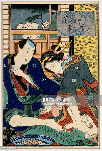 Japanese Erotic Print by Kunimori II