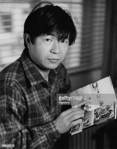 Japanese explorer Naomi Uemura in Copenhagen 5th December 1974 From there he will travel to Greenland to complete a 6000 km dogsleigh ride from...