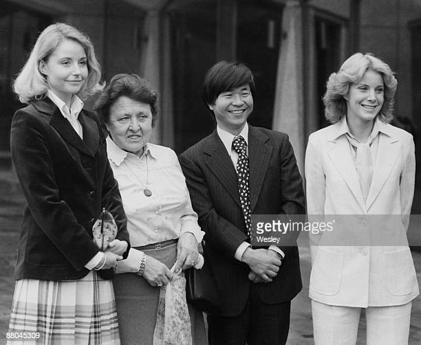 Japanese explorer Naomi Uemura wins the International Award for Valour in Sport for his solo expedition to the North Pole 22nd February 1979...