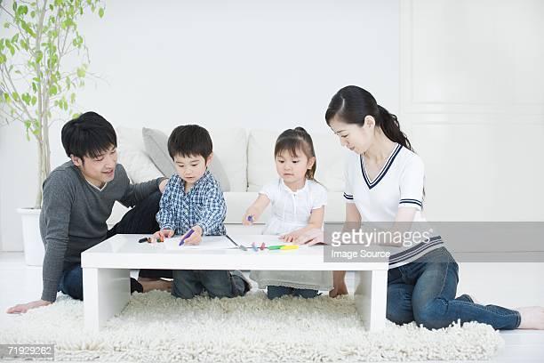 日本の家族の描出
