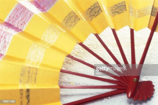 A Japanese fan, Close Up
