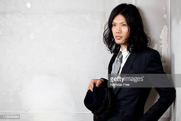 Japanese Fashionable Suited Man