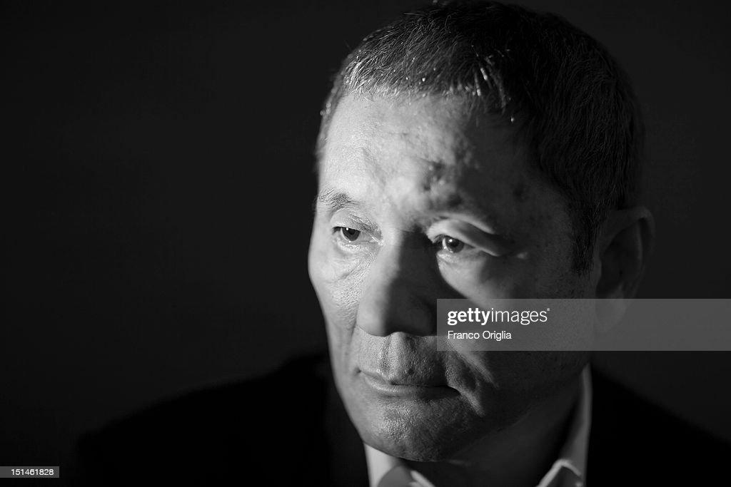 Takeshi Kitano Portrait Session - The 69th Venice Film Festival