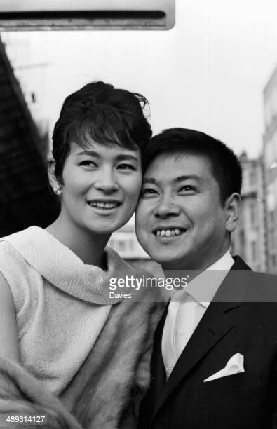 Japanese film star Yujiro Ishihara and his wife Mie Kitahara May 3rd 1964