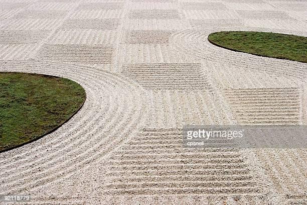Japanische flache Garten