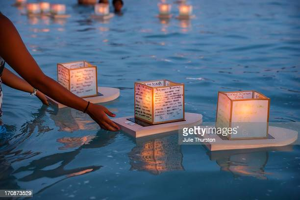 Japanese Floating Lantern Ceremony, Hawaii