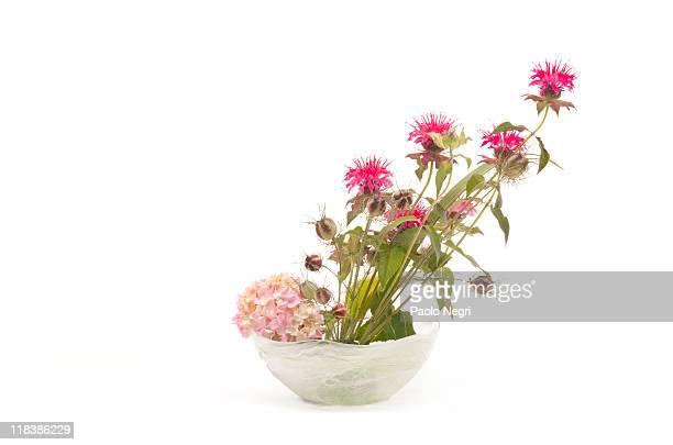 Japanese flower arranging ikebana