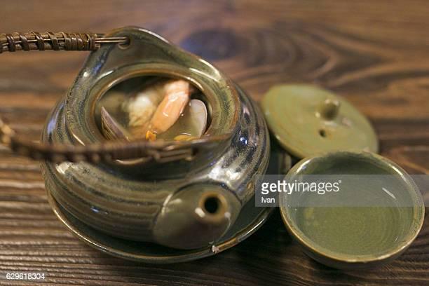 Japanese Food, Dobin Mushi Soup, Steamed Soup,