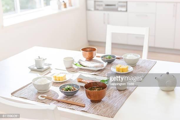 Japanese Food On Table