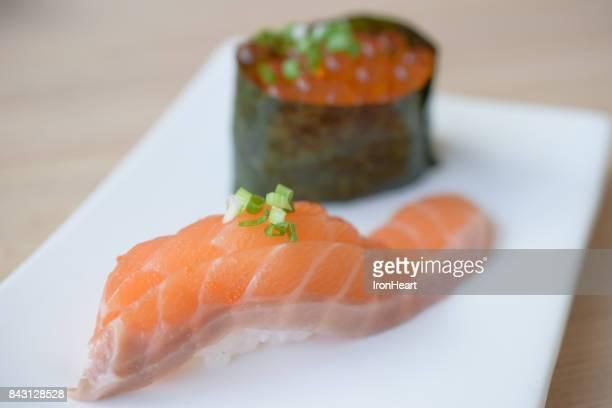 Japanese food, Sushi set.