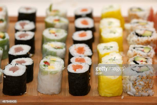 Japanese food Sushis Paris France