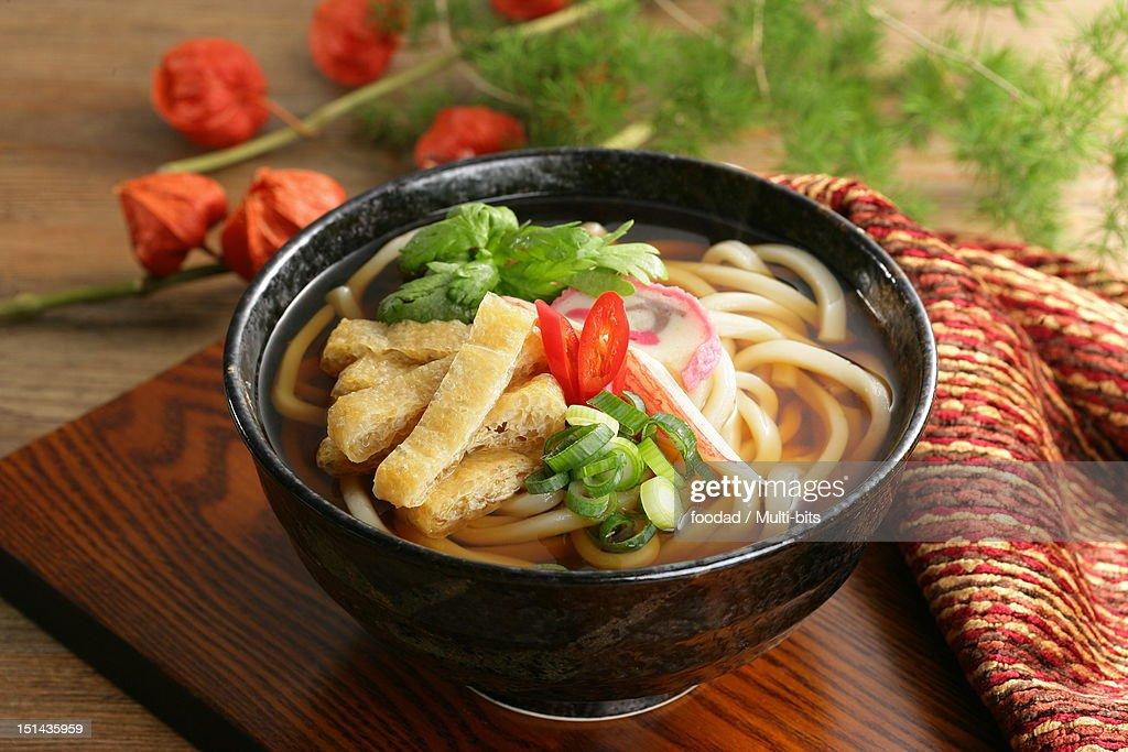 Japanese food, Udon : Stock Photo