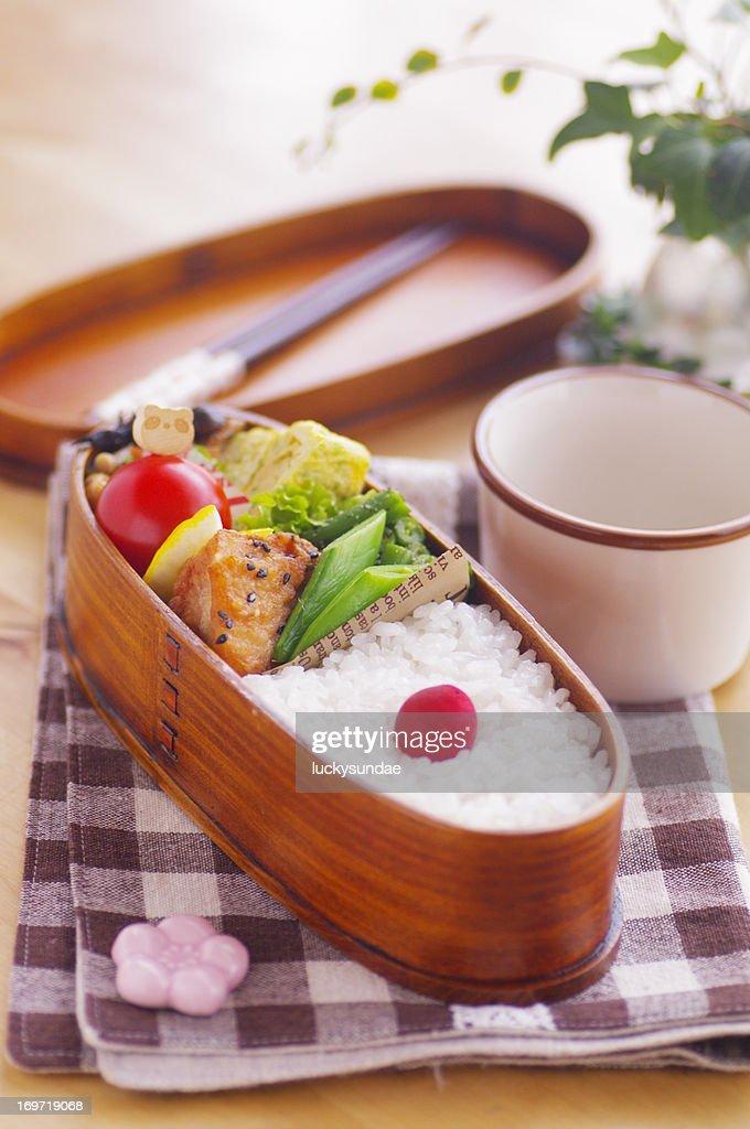 Japanese fried chickens(kara-age)Bento