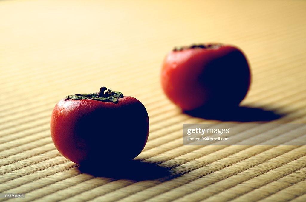 Japanese fruits : Stock Photo