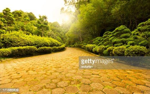 Fantasy garden foto e immagini stock getty images for Giardino orientale