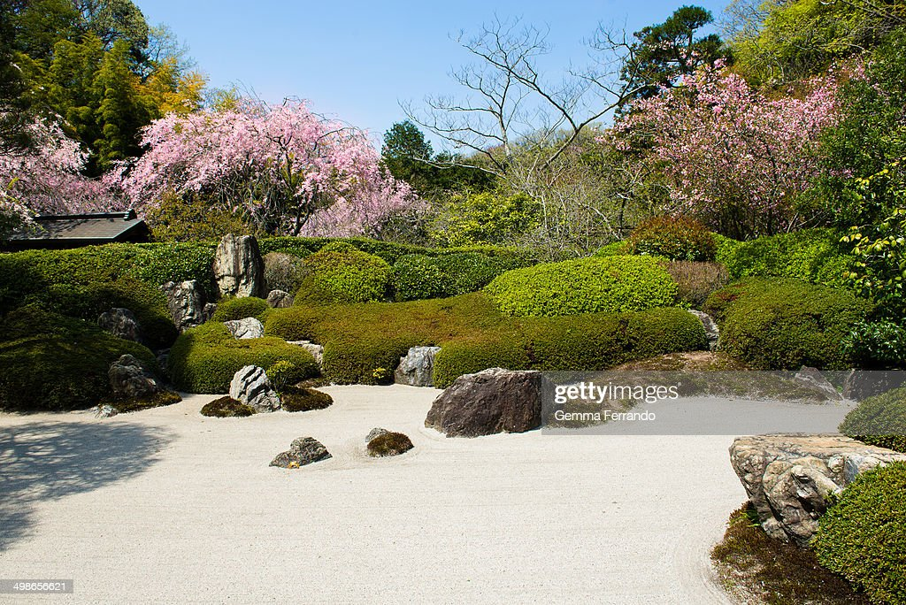 CONTENT] Japanese gardens are traditional gardens that create miniature idealized landscapes, often in a highly abstract and stylized way.