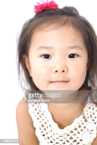 Japanese girl portrait : Stock Photo