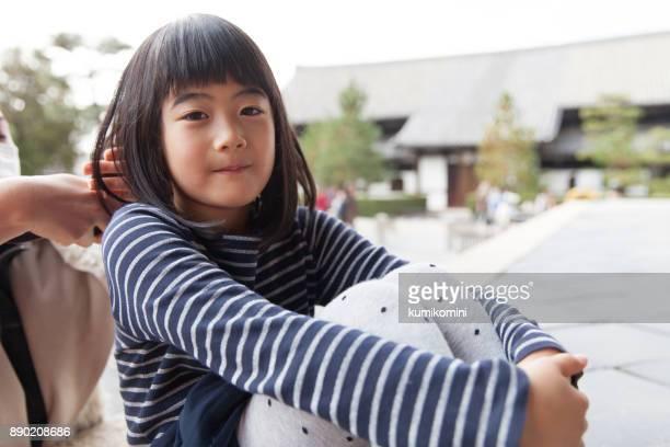 日本の女の子