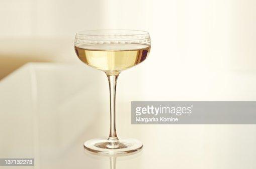 Japanese handmade champagne saucer