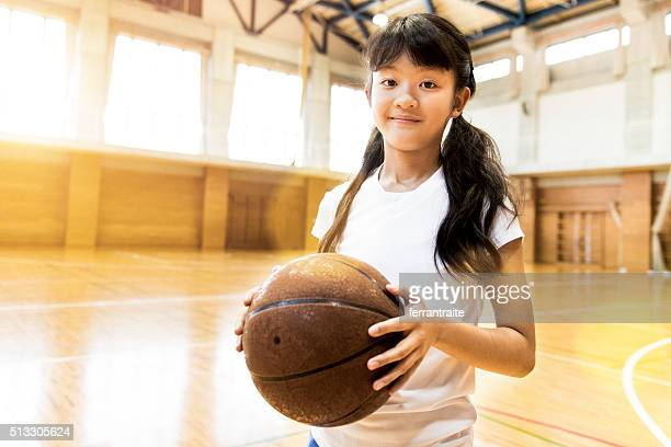 Japanese High School Female Basketball Player