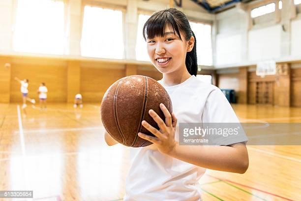 日本の高校女子バスケットボール選手