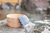 Japanese hot spring image