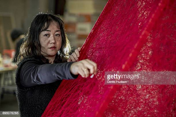 Japanese installation artist Chiharu Shiota is based in Berlin since 1996 She studied at the Seika University in Kyota Japan and in various German...
