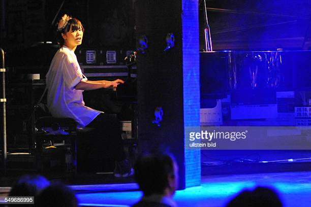 Japanese jazz pianist Hiromi Uehara is giving a concert at the 'Fabrik' in Hamburg