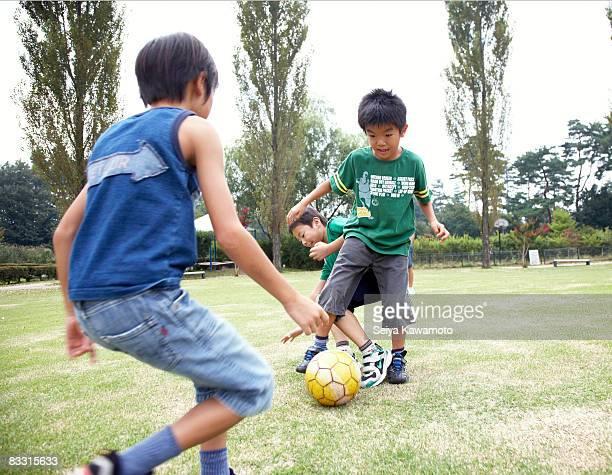 日本の子供サッカー