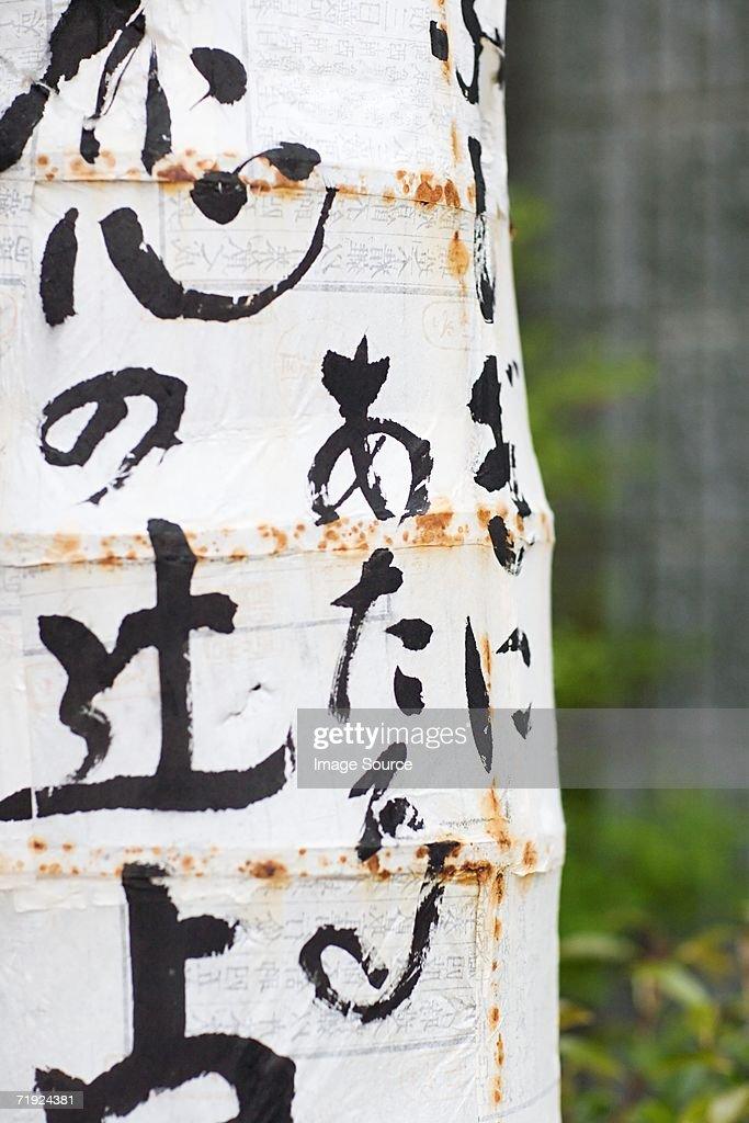 Japanese lantern : Stock Photo