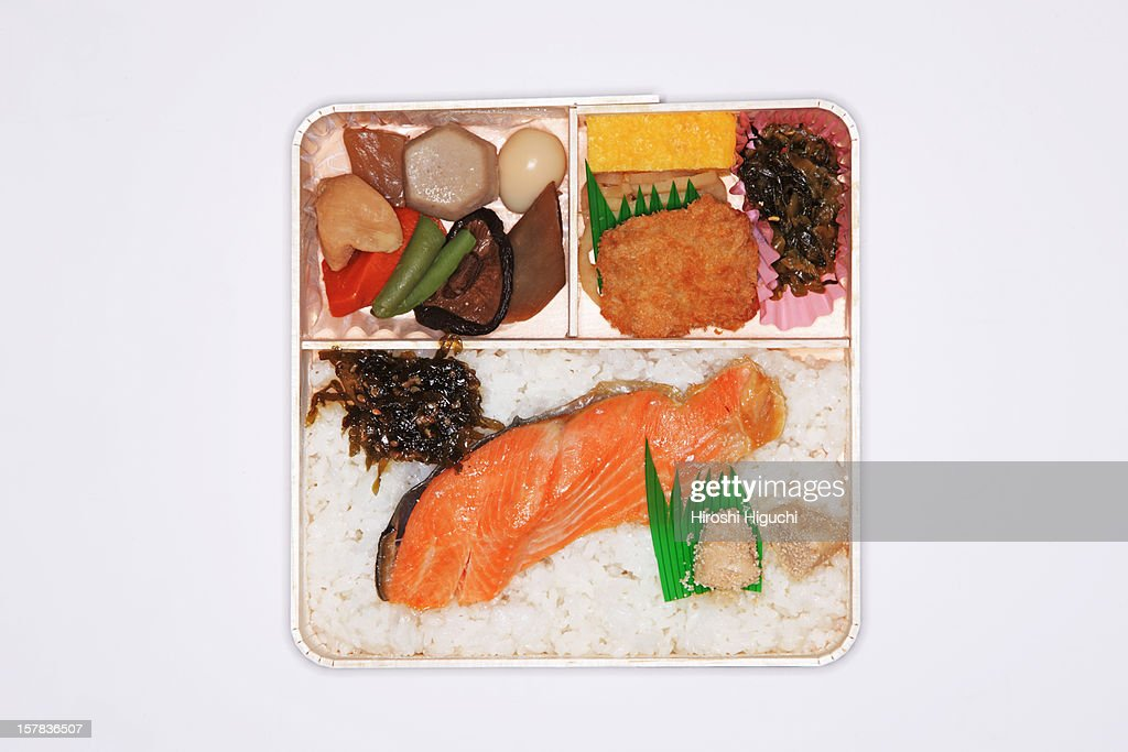 'BENTO' Japanese lunch box : Stock Photo